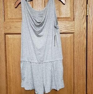 Gray Danskin Romper Shorts Large